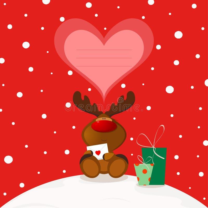 Christmas Elk vector illustration