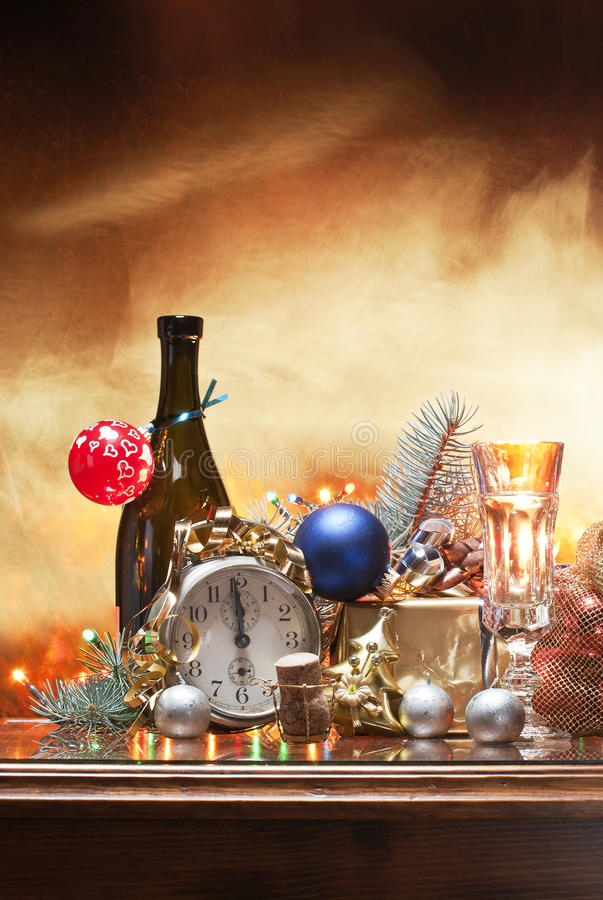 Christmas and the eve royalty free stock photography