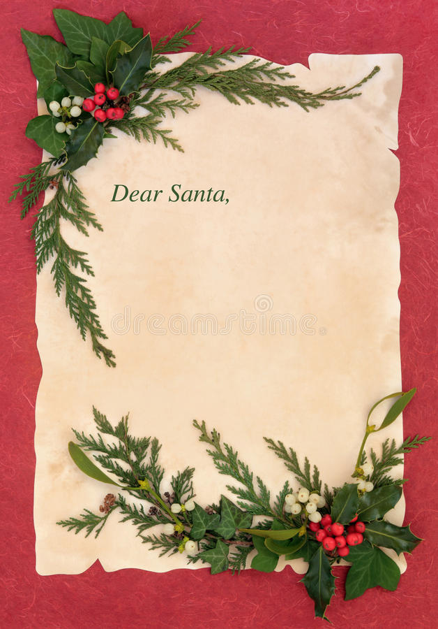 Christmas eve letter to santa stock photo image of fashioned xmas download christmas eve letter to santa stock photo image of fashioned xmas 33583526 spiritdancerdesigns Choice Image