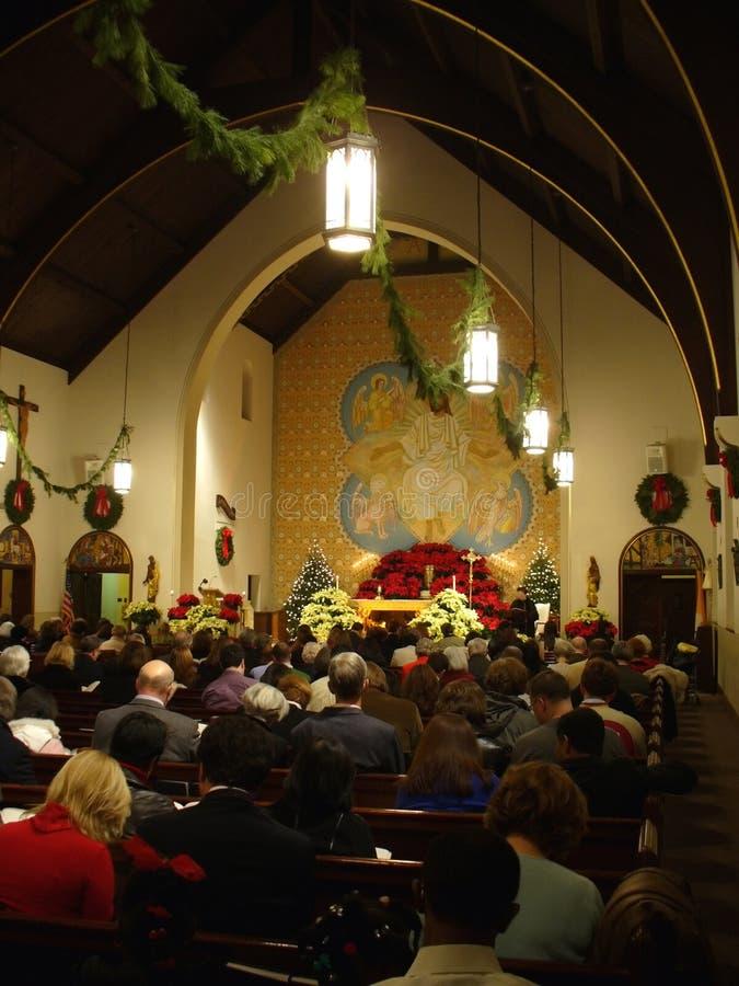 Free Christmas Eve Mass Royalty Free Stock Photography - 415187