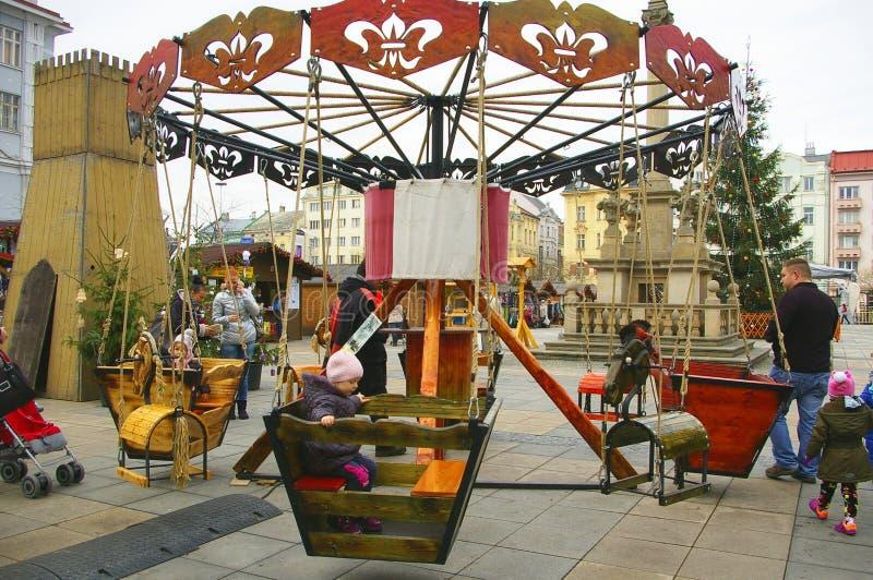 Christmas fairs Ostrava.  stock images
