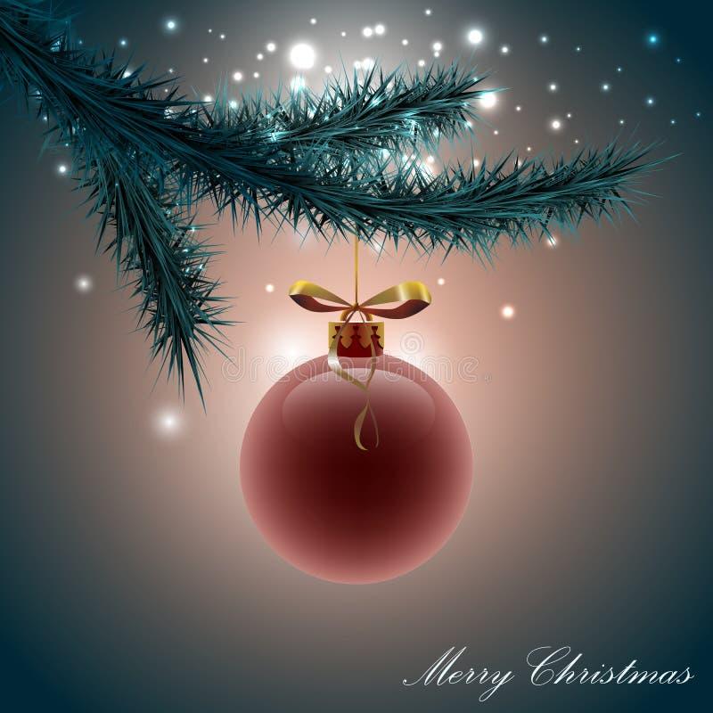Christmas fairy background stock photo