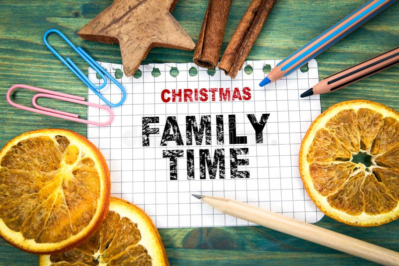 Christmas family time. Christmas and holiday background. Ornaments and decor royalty free stock photos