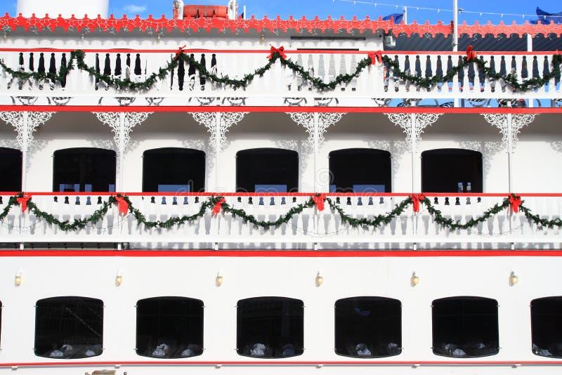 Download Christmas Ferry stock photo. Image of bridge, stacks, boat - 8110858