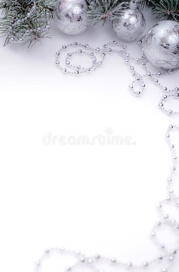 Silver Tree Festive Decoration A