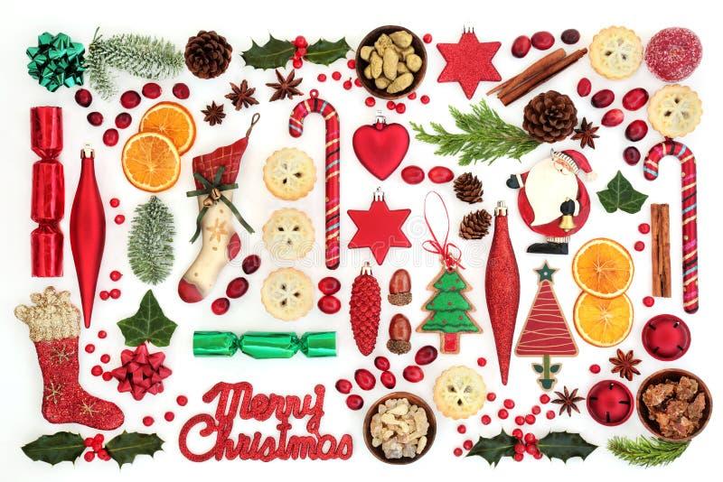 Christmas Festive Background royalty free stock photography