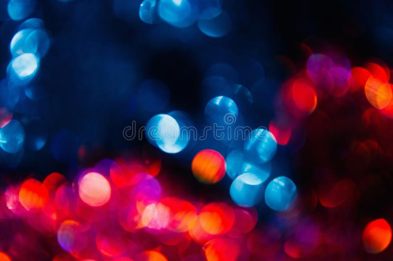 Festive bokeh colorful abstract background stock images