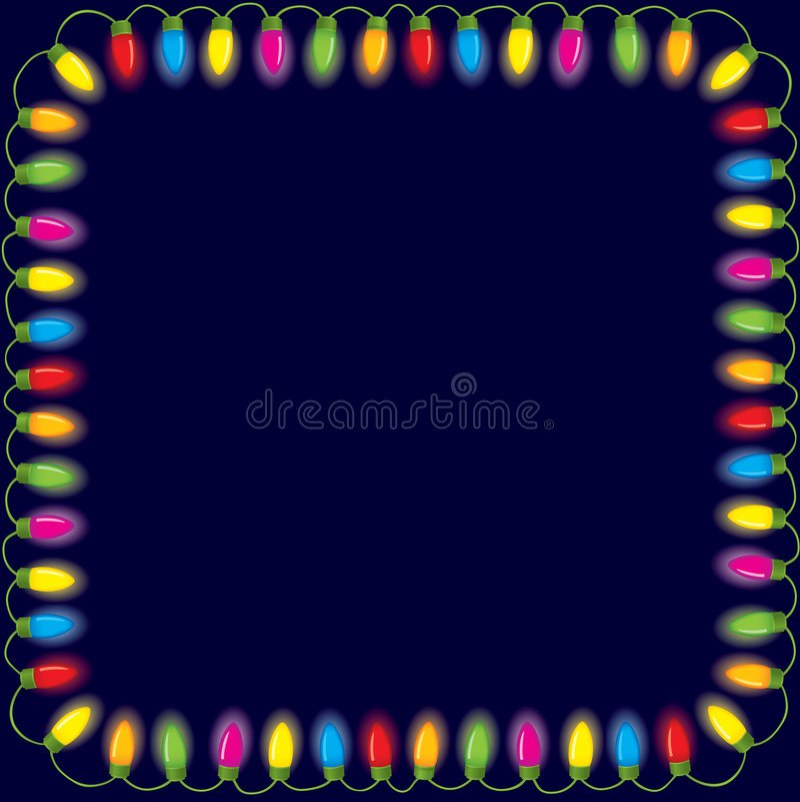 christmas festive lights ελεύθερη απεικόνιση δικαιώματος