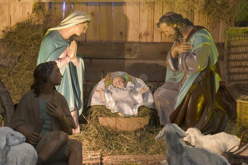 Christmas figures royalty free stock photos