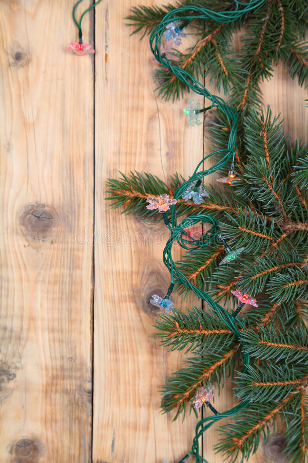 Download Christmas fir tree stock photo. Image of year, close - 26963792
