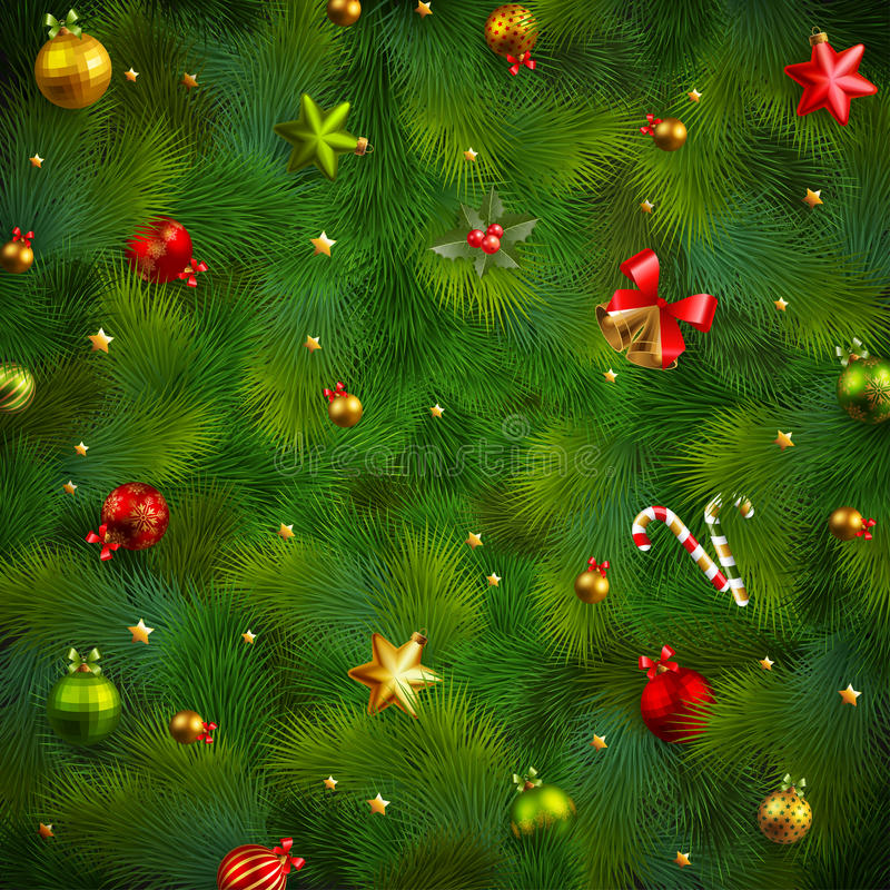 Free Christmas Fir Tree Texture Stock Images - 27716614