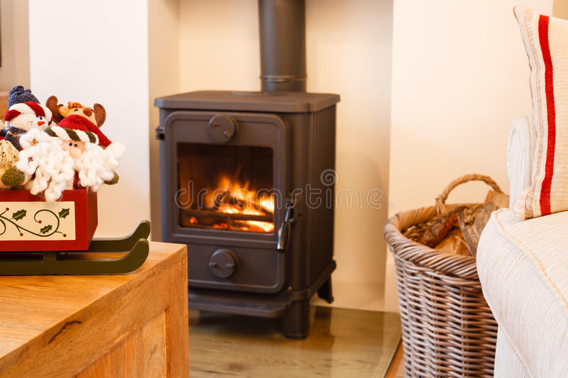 Download Christmas Fireplace Royalty Free Stock Image - Image: 26082546