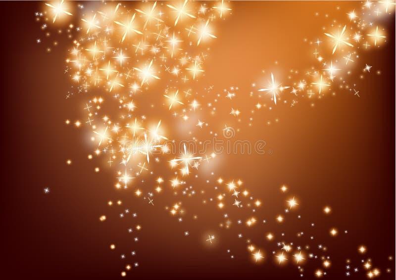 Christmas flash light background stock illustration