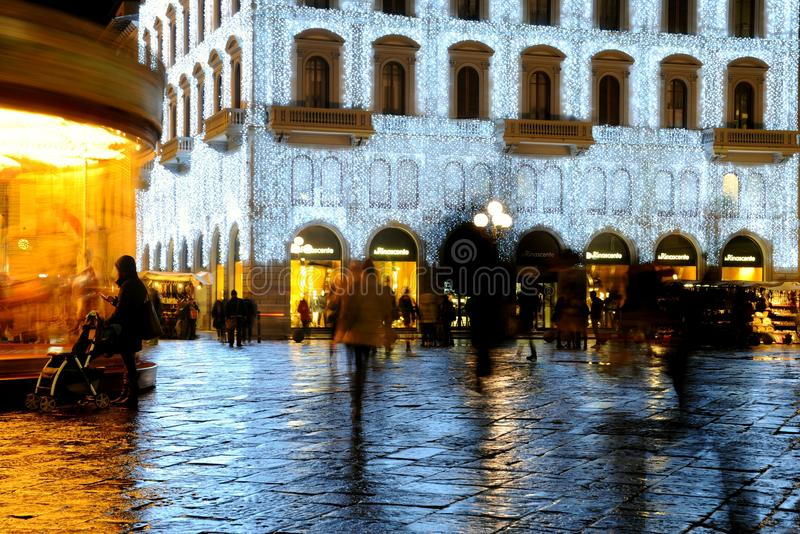 Christmas in Florence 2014 , Italy royalty free stock photo