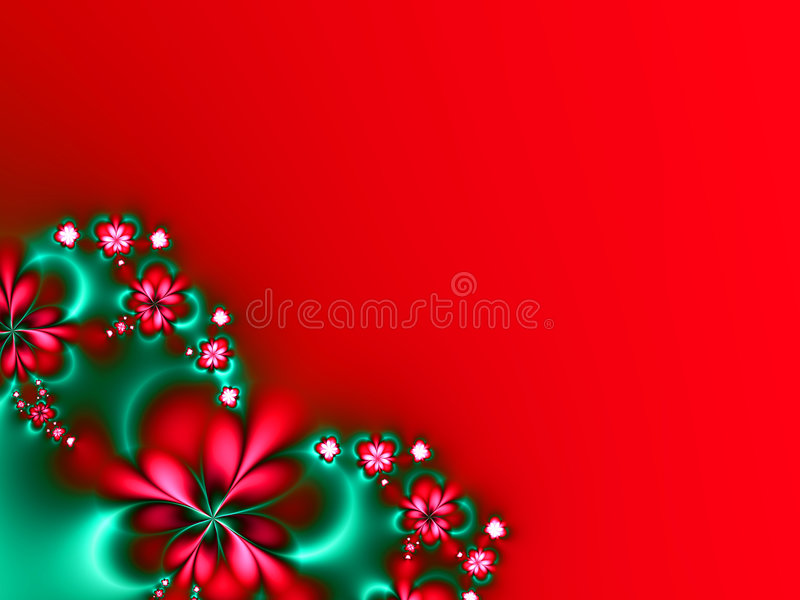 Christmas Flowers royalty free stock photos