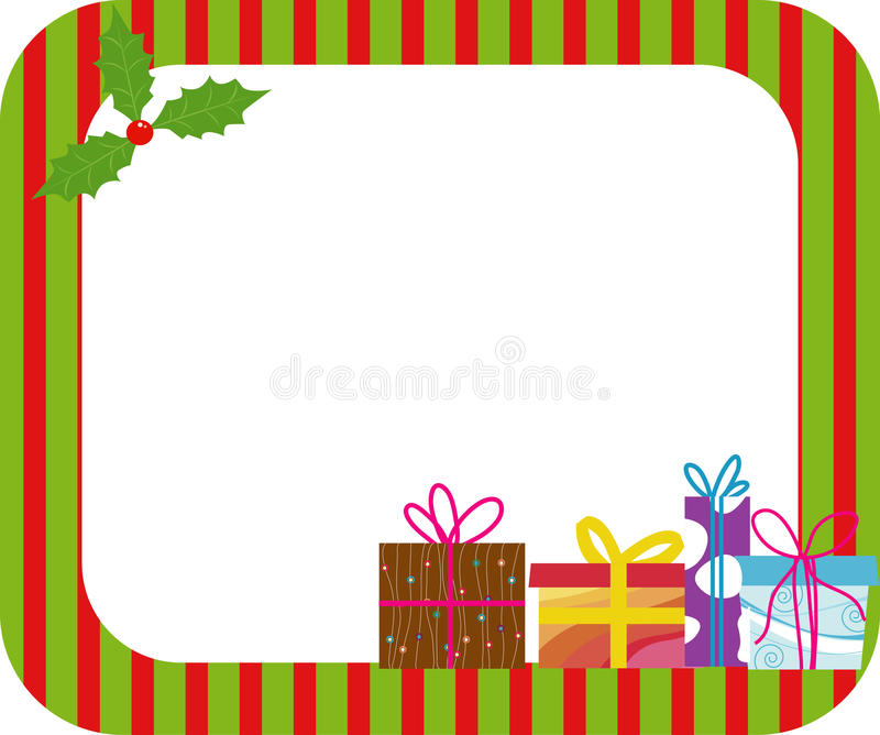Download Christmas frame stock vector. Image of holiday, belt - 11717242
