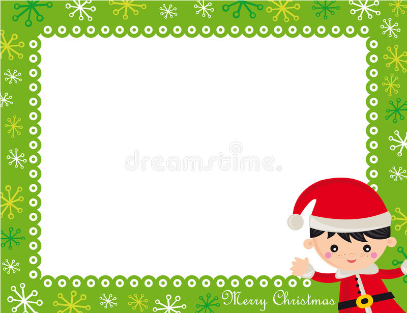Download Christmas frame stock photo. Image of green, merry, xmas - 11888430