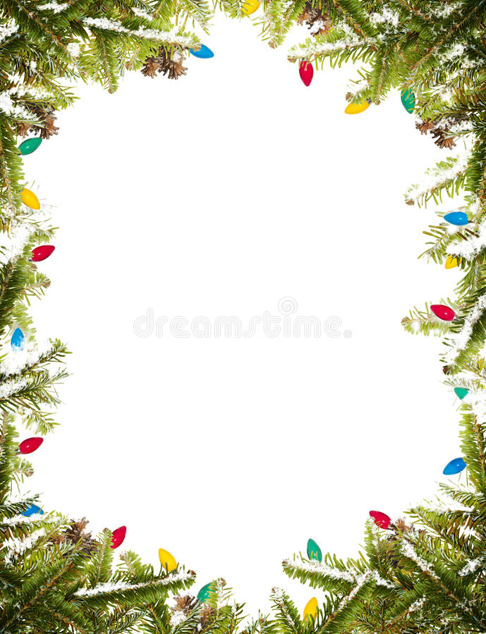 Free Christmas Frame Royalty Free Stock Photos - 16960138