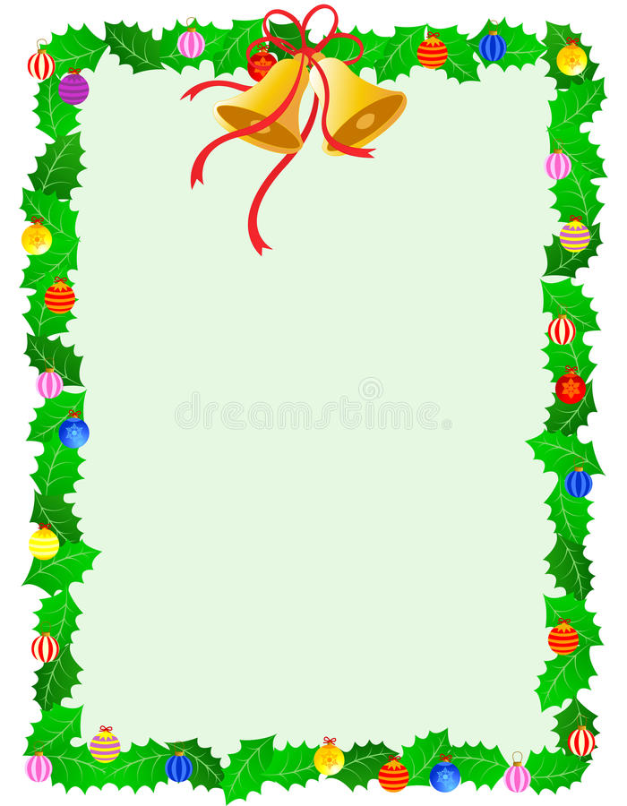 Download Christmas frame stock vector. Image of dark, borders - 21099356