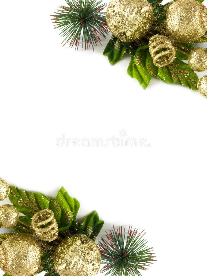 Free Christmas Frame Royalty Free Stock Photo - 28009475