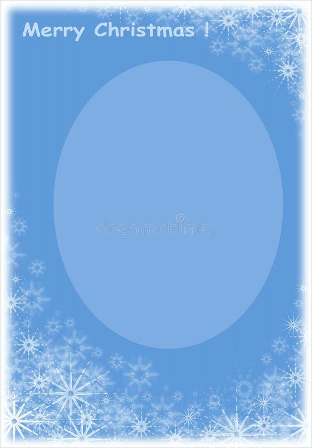 Christmas frame. stock images