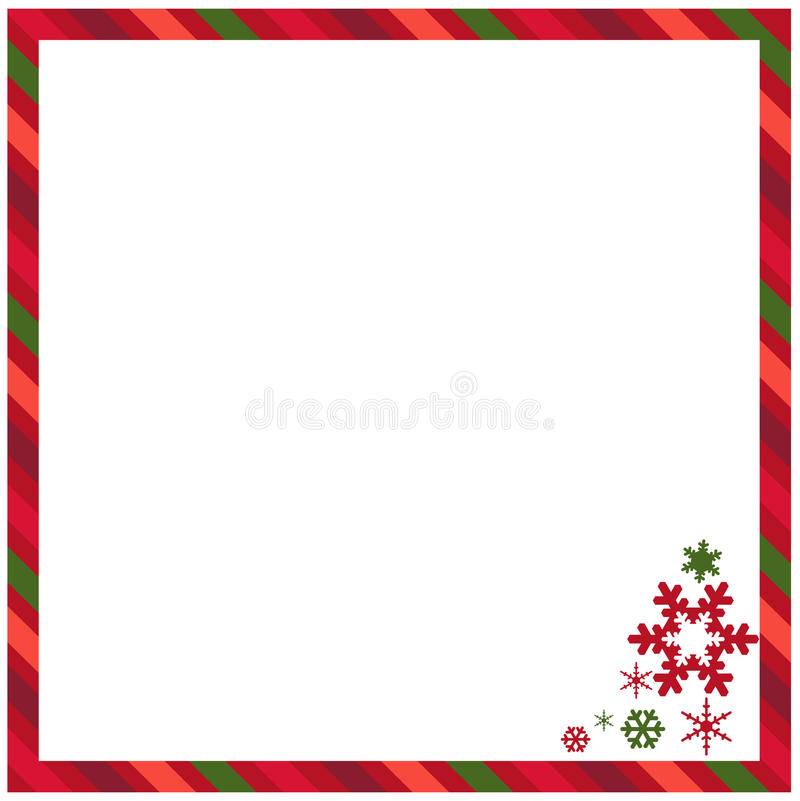 Free Christmas Frame Royalty Free Stock Photos - 35952388