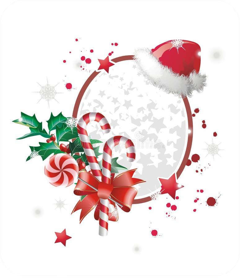 Christmas frame vector illustration