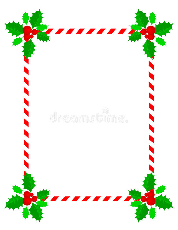 Christmas Header Clipart.Red White Merry Christmas Header Footer Stock Illustrations