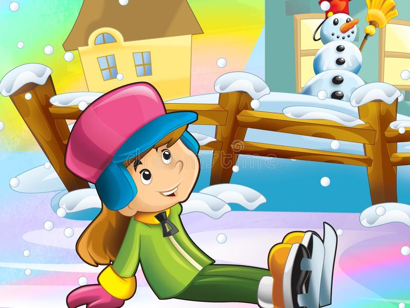 Download Christmas Fun Ice Skates Royalty Free Stock Photos - Image: 28974798