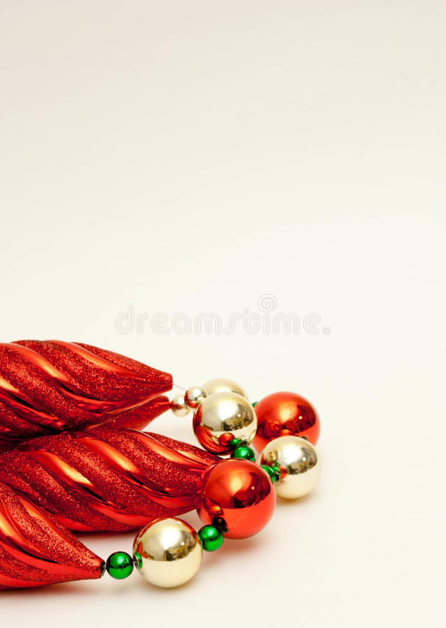 Download Christmas Garland stock photo. Image of gold, green, bulbs - 21883738