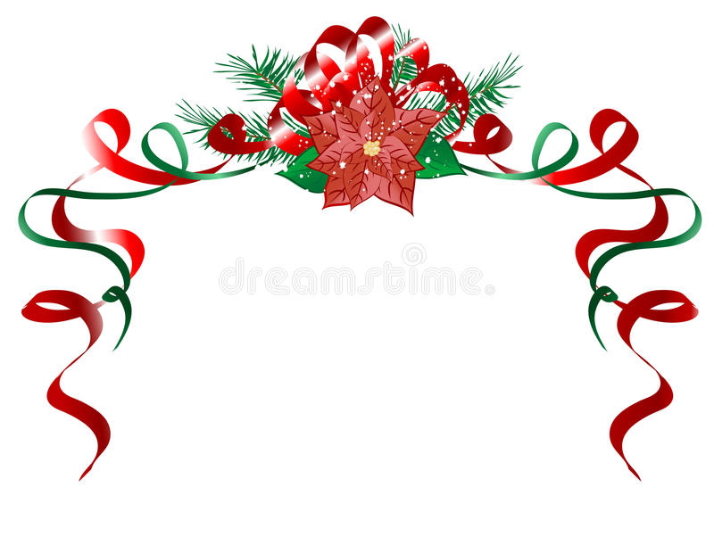 Christmas Garland Royalty Free Stock Photo