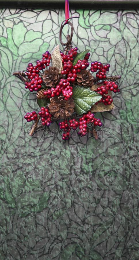 Download Christmas garland stock image. Image of berry, frog, hawthorn - 7775985