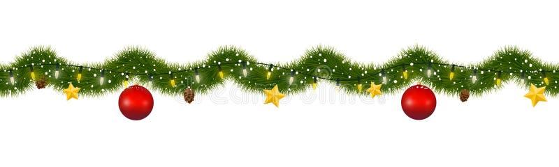 Border Christmas Garland Stock Illustrations \u2013 18,453 Border