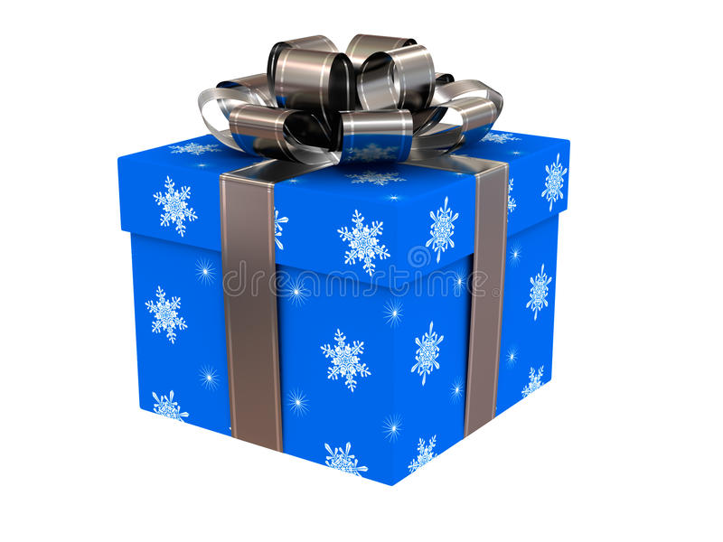 Download Christmas gift stock image. Image of surprise, glad, render - 16560355