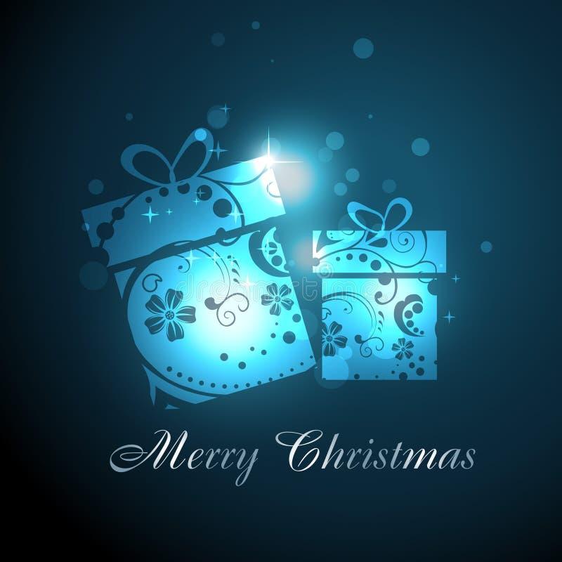 Christmas gift royalty free illustration