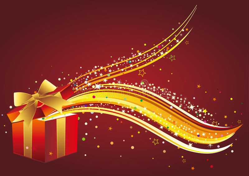 Download Christmas gift stock vector. Illustration of anniversary - 17452364