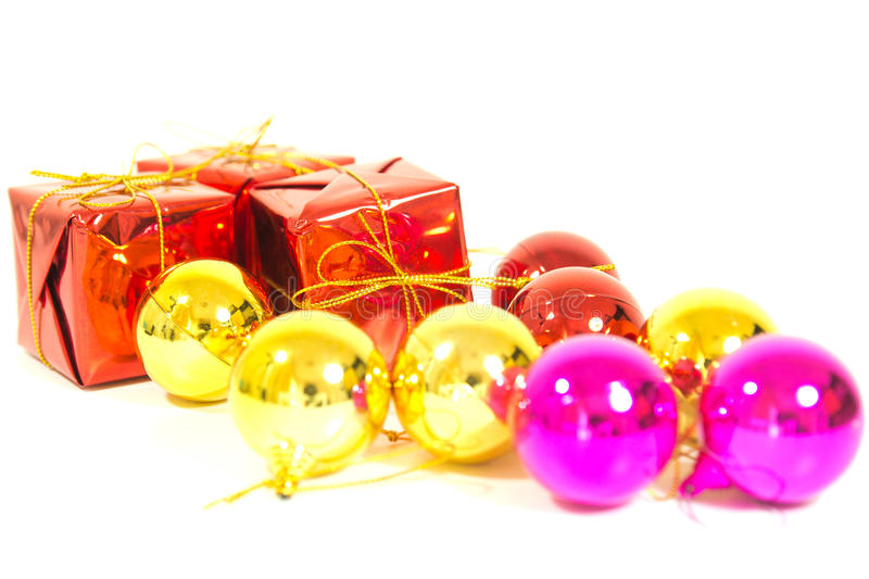 Download Christmas gift stock photo. Image of gift, pink, isolated - 28554240