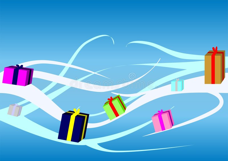 Download Christmas Gift stock vector. Image of drawing, colorful - 3562284