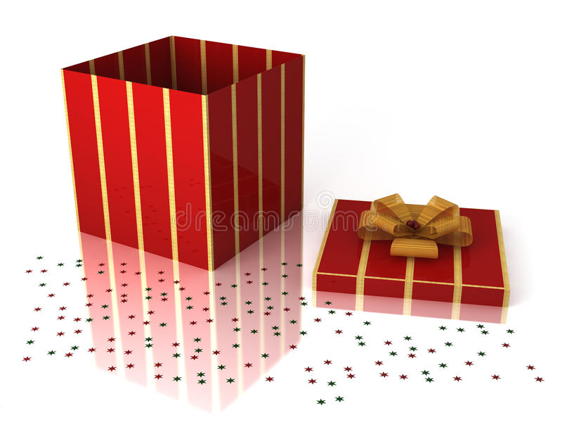 Download Christmas gift box stock illustration. Image of christmas - 11935263
