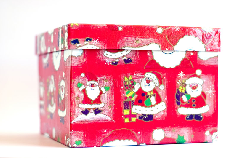 Download Christmas Gift Box stock image. Image of greetings, claus - 179265