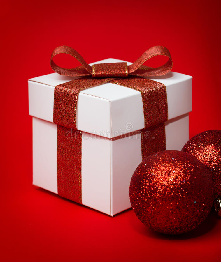Download Christmas gift box stock photo. Image of festive, closeup - 27630160