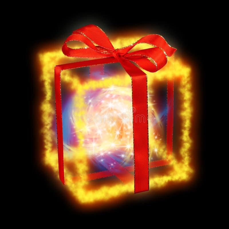 Download Christmas gift box stock illustration. Image of band, imagination - 6744946