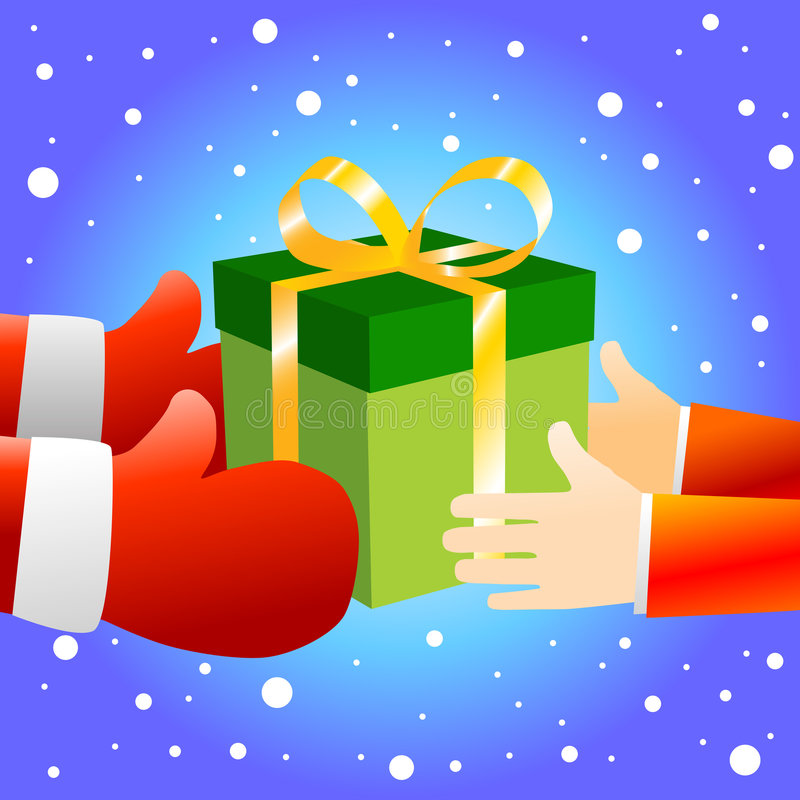 Download Christmas Gift box stock vector. Image of present, elegant - 7838170