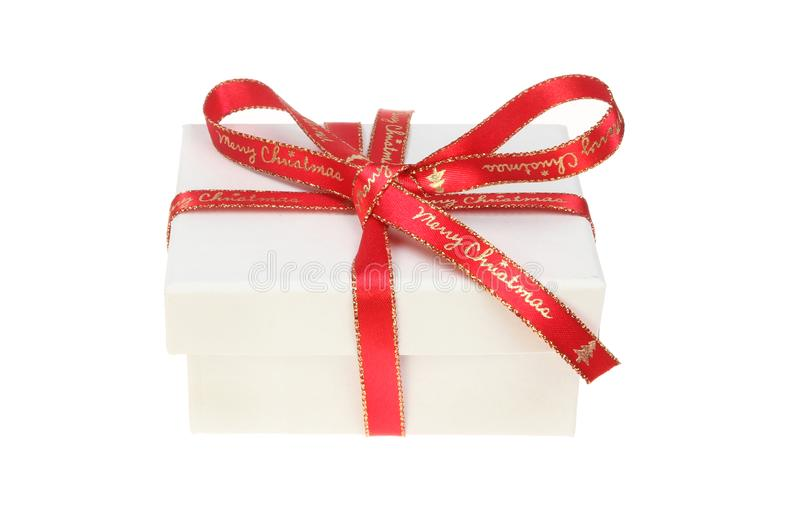 Download Christmas gift box stock photo. Image of xmas, text - 105387460