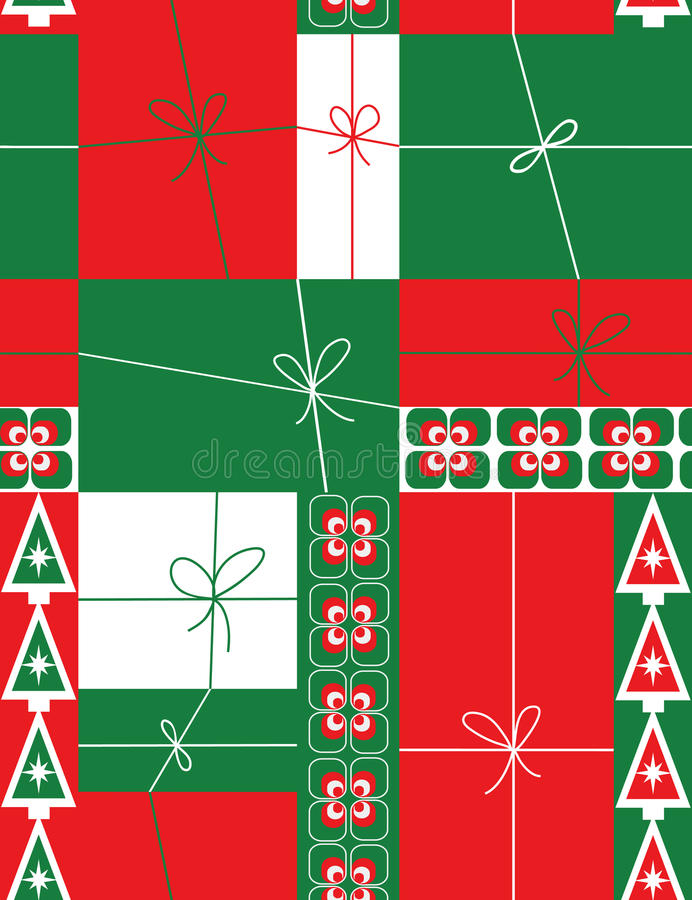 Christmas gift boxes vector illustration