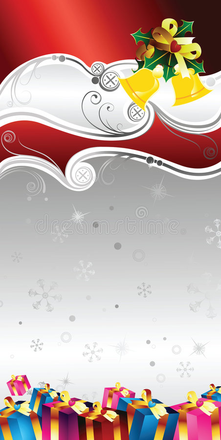 Download Christmas Gift Certificate Design Stock Illustration - Image: 6418341