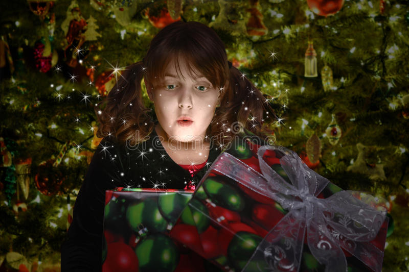 Download Christmas Gift Full Of Suprise Stock Photo - Image: 21883970