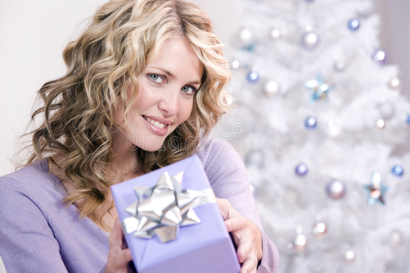 A christmas gift for you! stock photography
