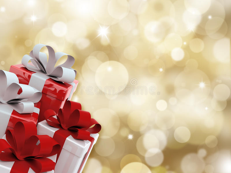 Download Christmas gifts stock illustration. Image of present - 11956393