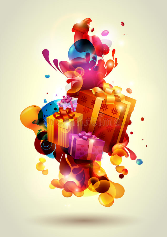 Free Christmas Gifts Stock Photography - 16597462